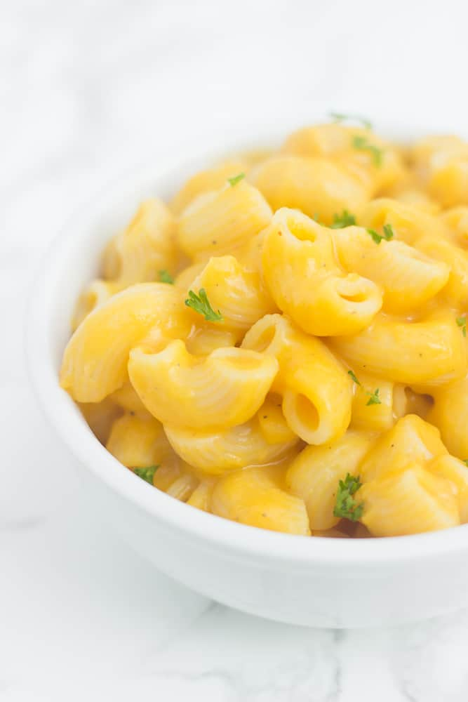 Healthy alternative to mac and cheese