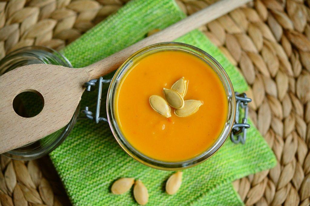 healthy pumpkin soup recipe for fall