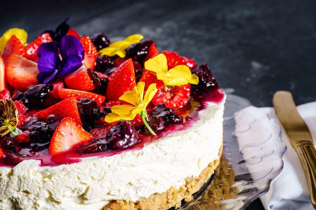 spring has sprung a guilt-free dessert