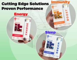 Cutting Edge Solution, Proven Performance: Immunity, Energy, Sleep